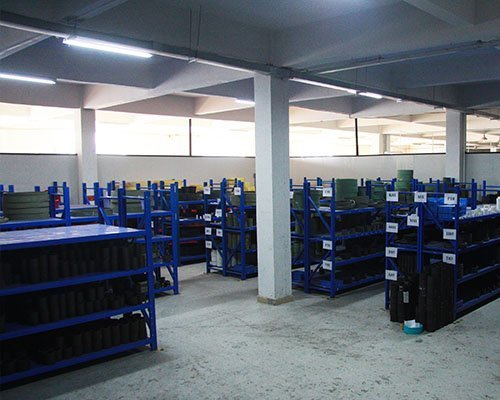 Semi-finished products warehouse