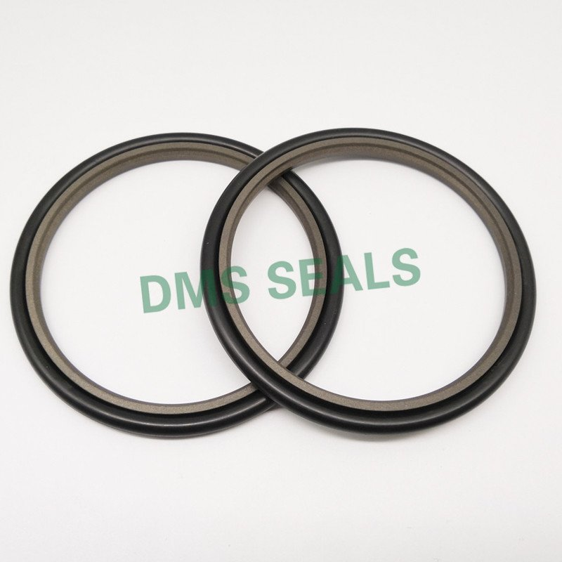 GSJ - Bronze PTFE Hydraulic Rod Step Seal with NBR/FKM O-Ring