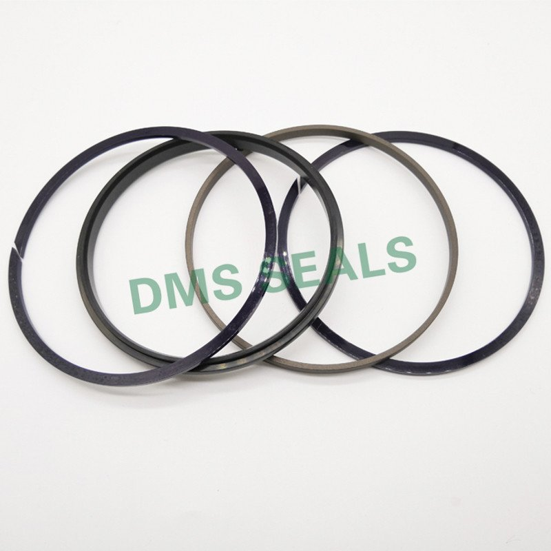 SPGW - PTFE Hydraulic Piston Seal with NBR/FKM O-Ring