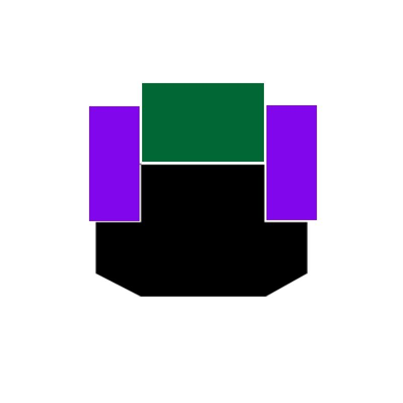 SPGW - PTFE Hydraulic Piston Seal with NBR/FKM O-Ring