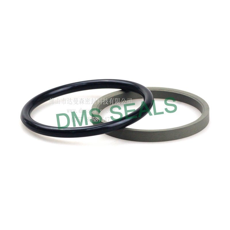 GZT - PTFE Hydraulic Rod Seal with NBR/FKM O-Ring