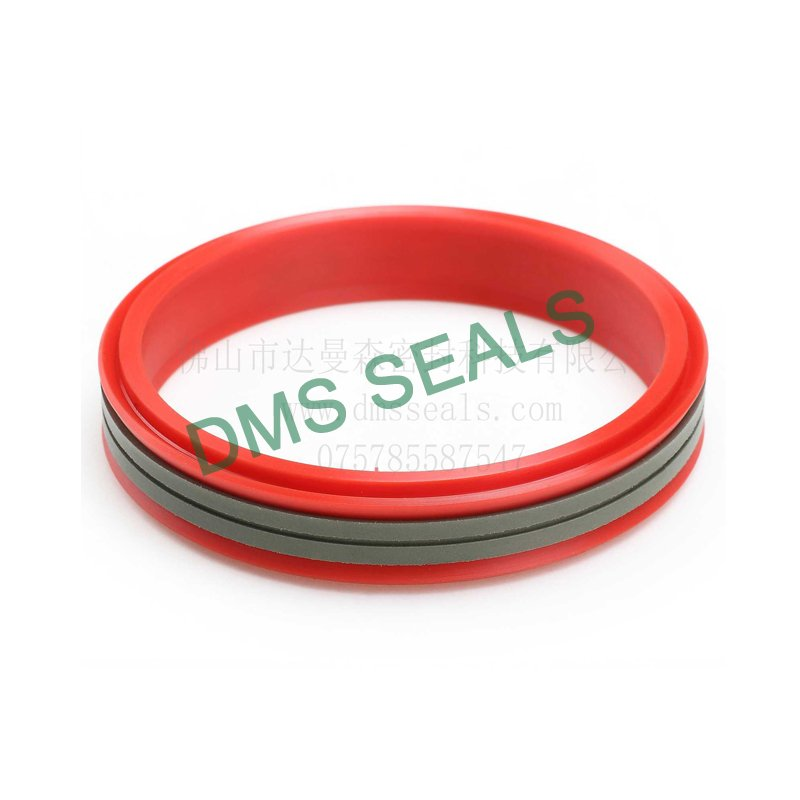 DDMA - PTFE Hydraulic Piston Seal with NBR/FKM O-Ring