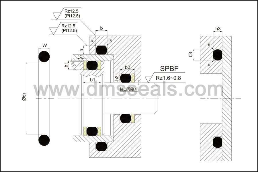 DMS Seal Manufacturer-Fda Rubber Silicone Gasket O Rings | High Pressure O Ring Seals Company