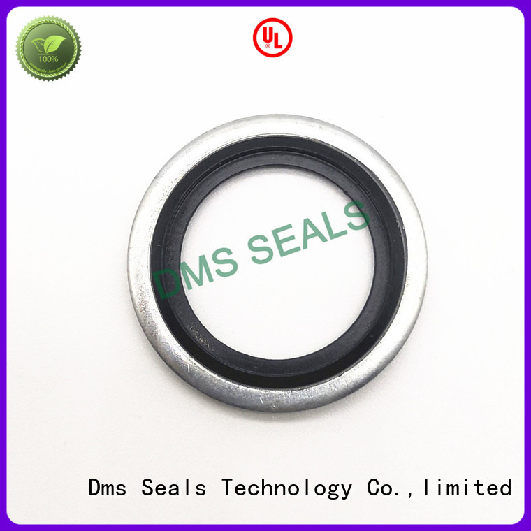 oring Custom ptfe hydraulic bonded seals DMS Seal Manufacturer spring
